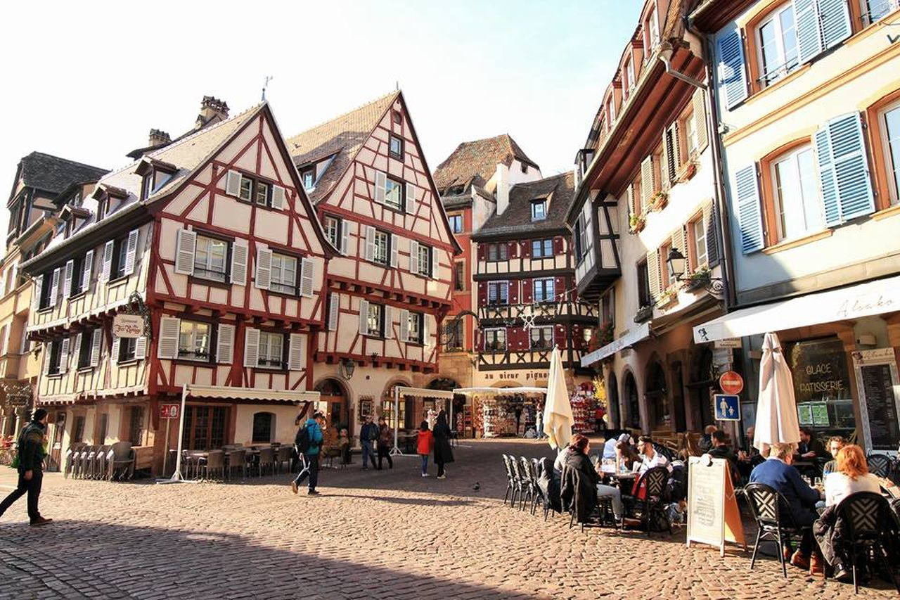 Autumn Colmar Colmar, Alsace, France Colourful Europe France French Landscape Nature Outdoors Streetphotography Village