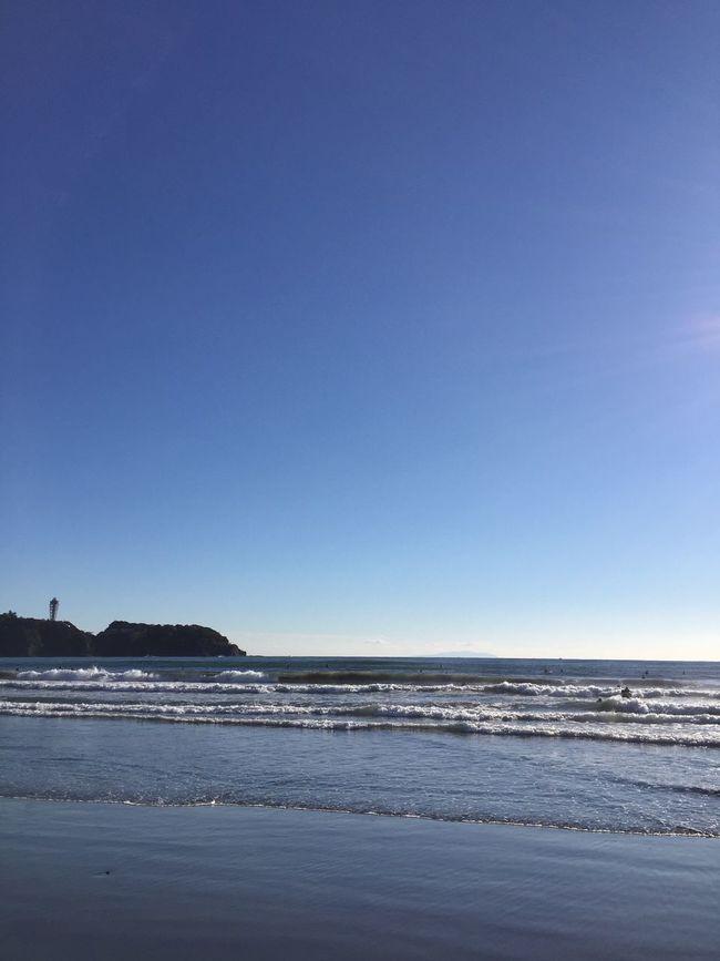 Blue Sky My_sky Winter Sea