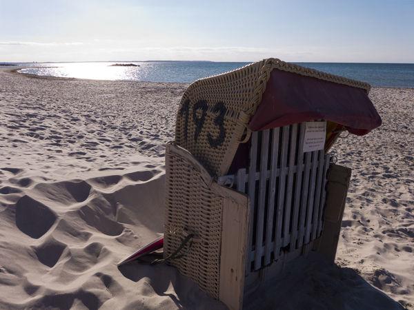 Baltic Sea Beach Beach Chair Day Heidkate Holydays Hooded Beach Chair Horizon Over Water Kiel Leisure Nature No People Outdoors Relaxation Sand Sand Dune Sea Shore Sky Strandkorb Summer Summertime Sunlight Tranquil Scene Water