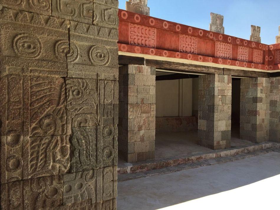 Mesoamerica Teotihuacan Arte Prehispanico Colors Scape Palacio Palace Archeology Enjoying Life Misticismo