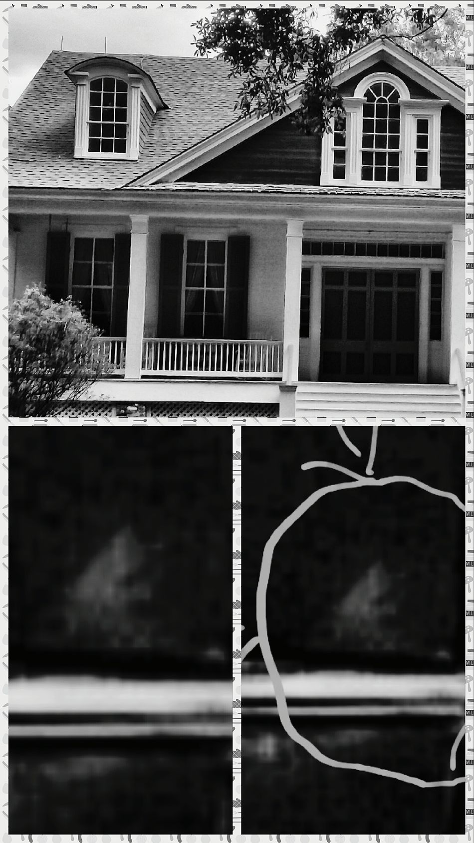Shades Of Grey GHOST GIRL Haunted House Haunted Plantations