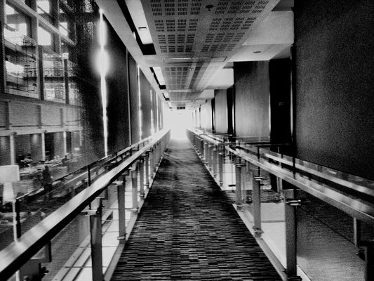AMPt - Vanishing Point in Cape Town by Norma Phoenix