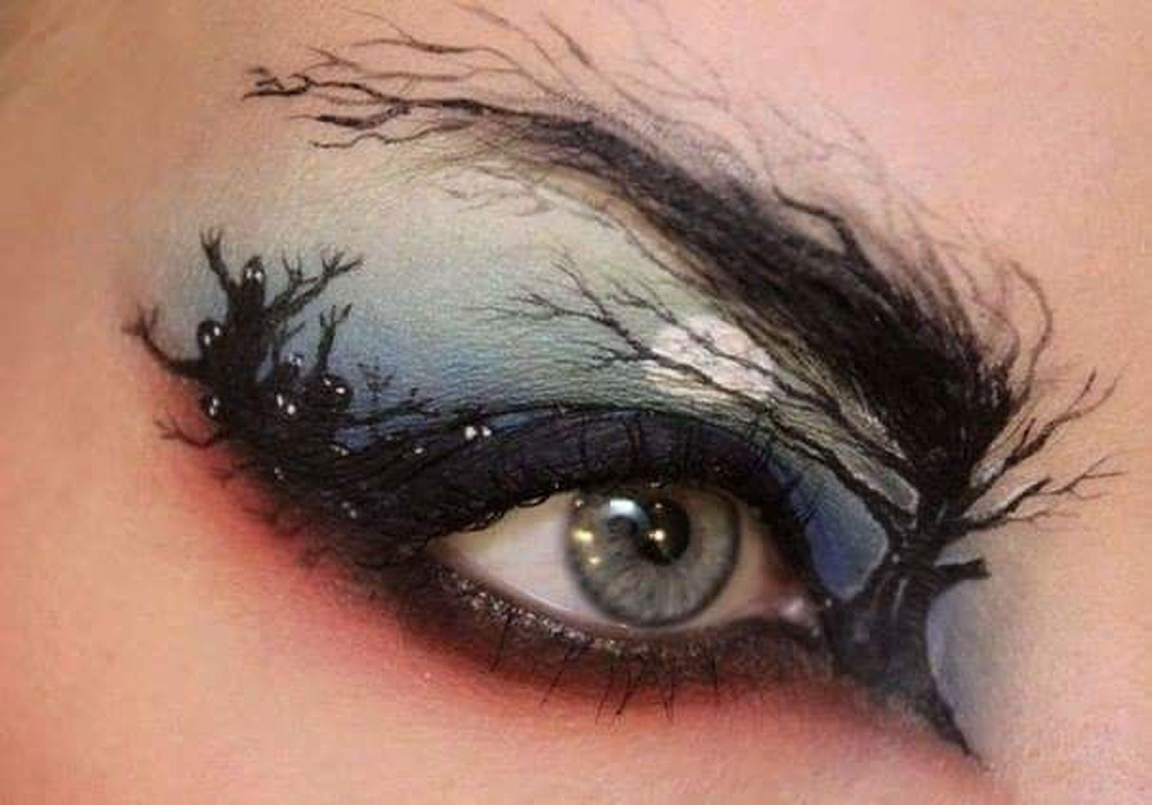 human eye, close-up, looking at camera, eyelash, eyesight, portrait, human skin, human face, young adult, headshot, part of, sensory perception, lifestyles, eyebrow, eyeball, extreme close-up, iris - eye