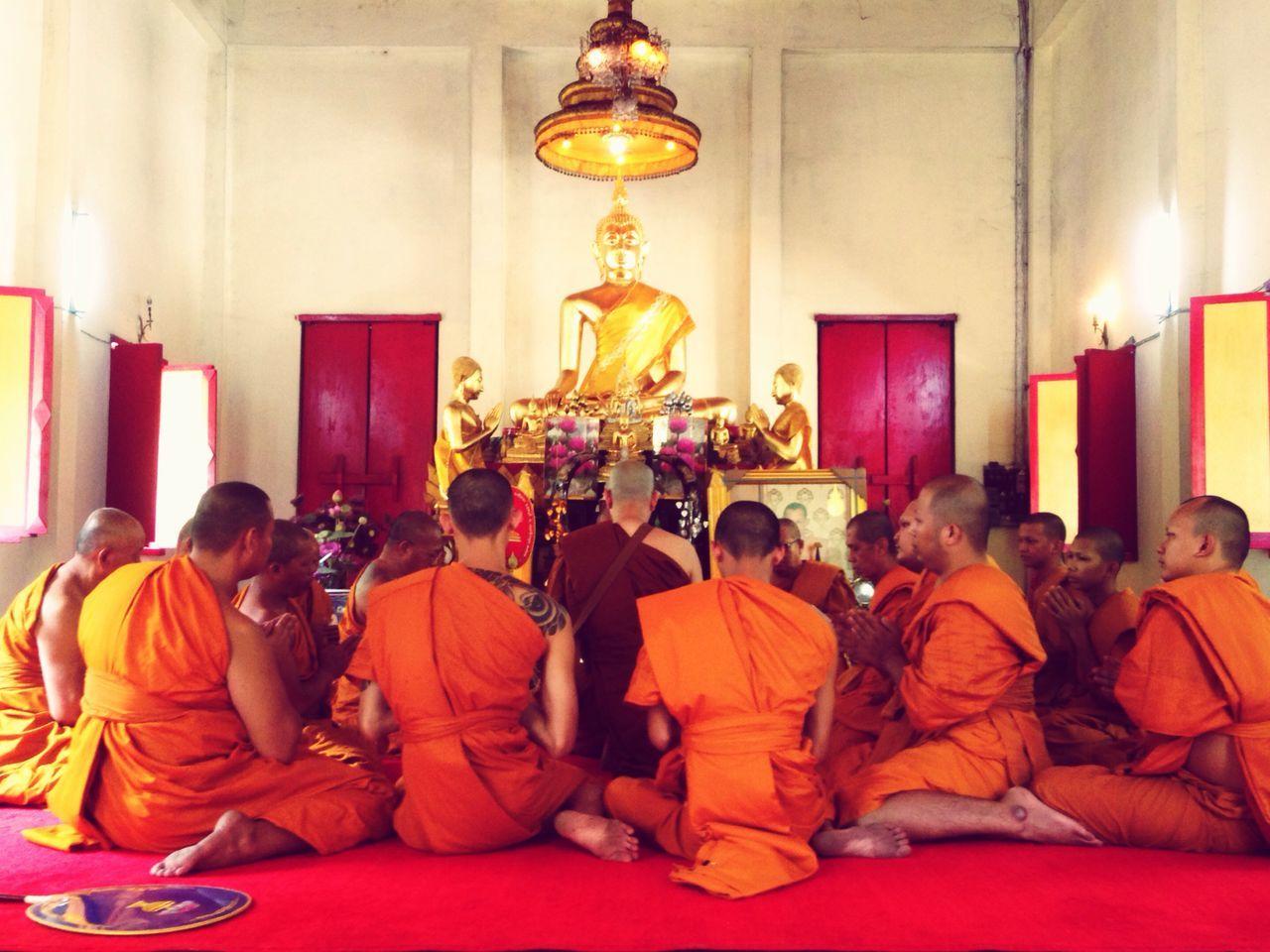 Monk  Monks Thailand Thaimonks ThaiMonk Buddhism Ordained Ordinate Buddhist Ordain Meritt Makemerits Thai Temple