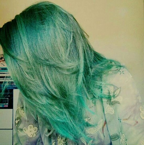 Hair Hair Color Green Color Colorlove