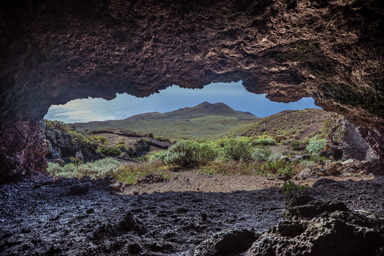 2016__02_ElHierro_ES 43 Golden Moments Atlantic Ocean Beauty In Nature Bimbaches Canary Islands Cave Cueva Del Caracol El Hierro HDR La Dehesa Landscape Landscape_Collection Landscape_photography Landscapes No People Rock Formation The OO Mission