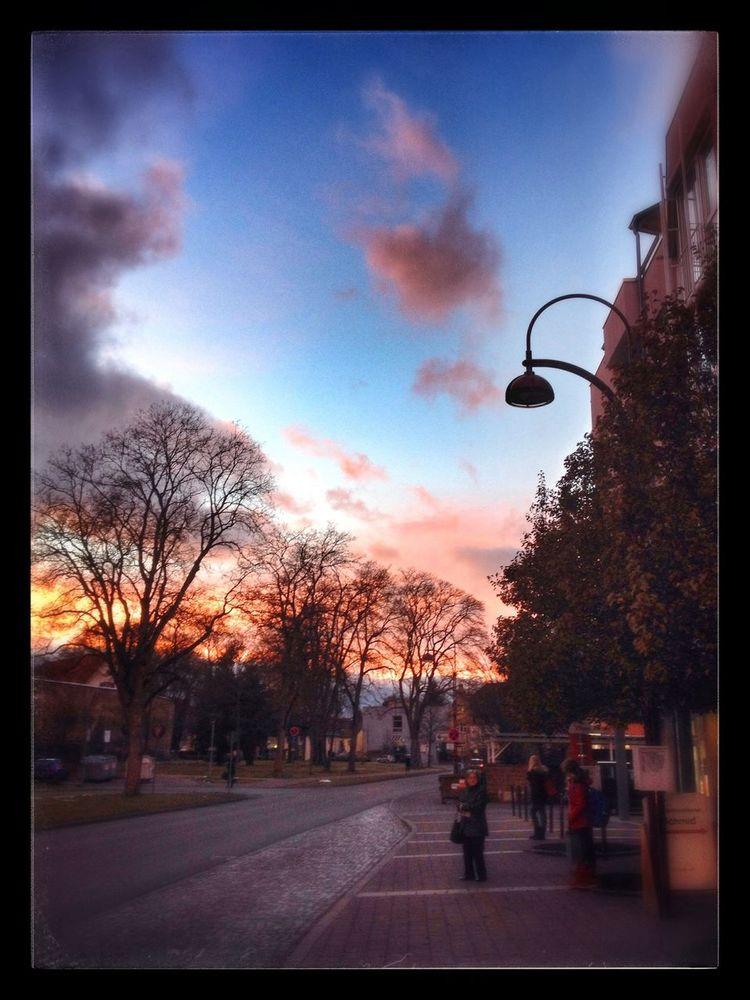 beautyful evening Villingen City Sundown Sky_collection Naturelovers