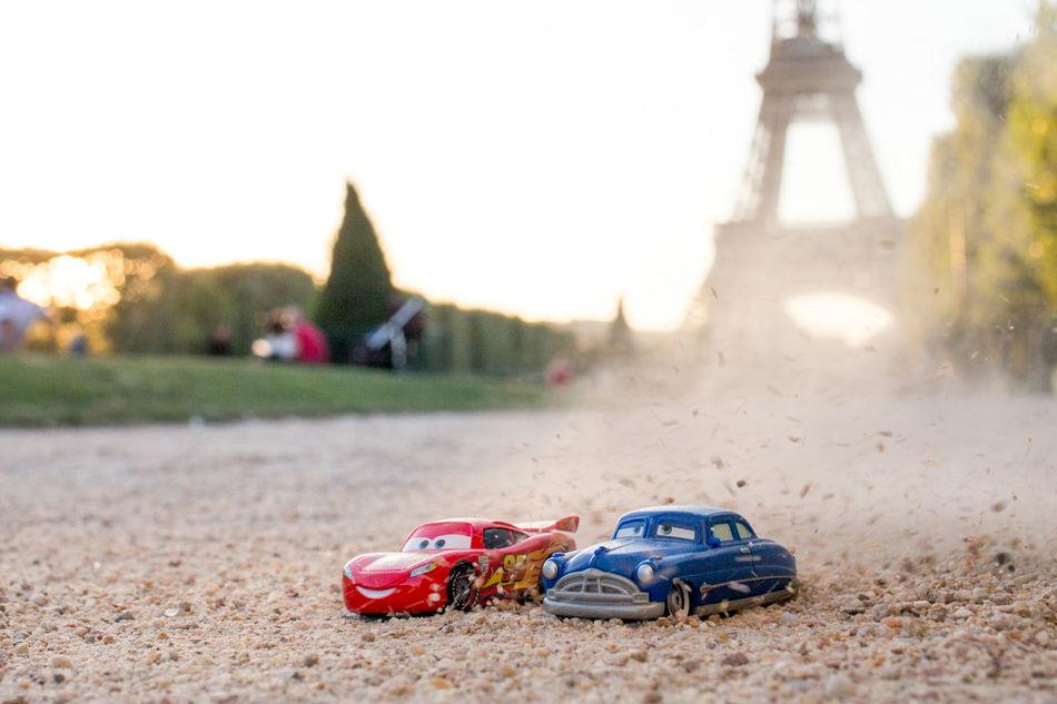 Cars Disney Disneypixar Disneypixarcars Pixar  Toyphotography Photography Tour Eiffel Eiffel Tower Champ De Mars Disneyfr Carsàparis