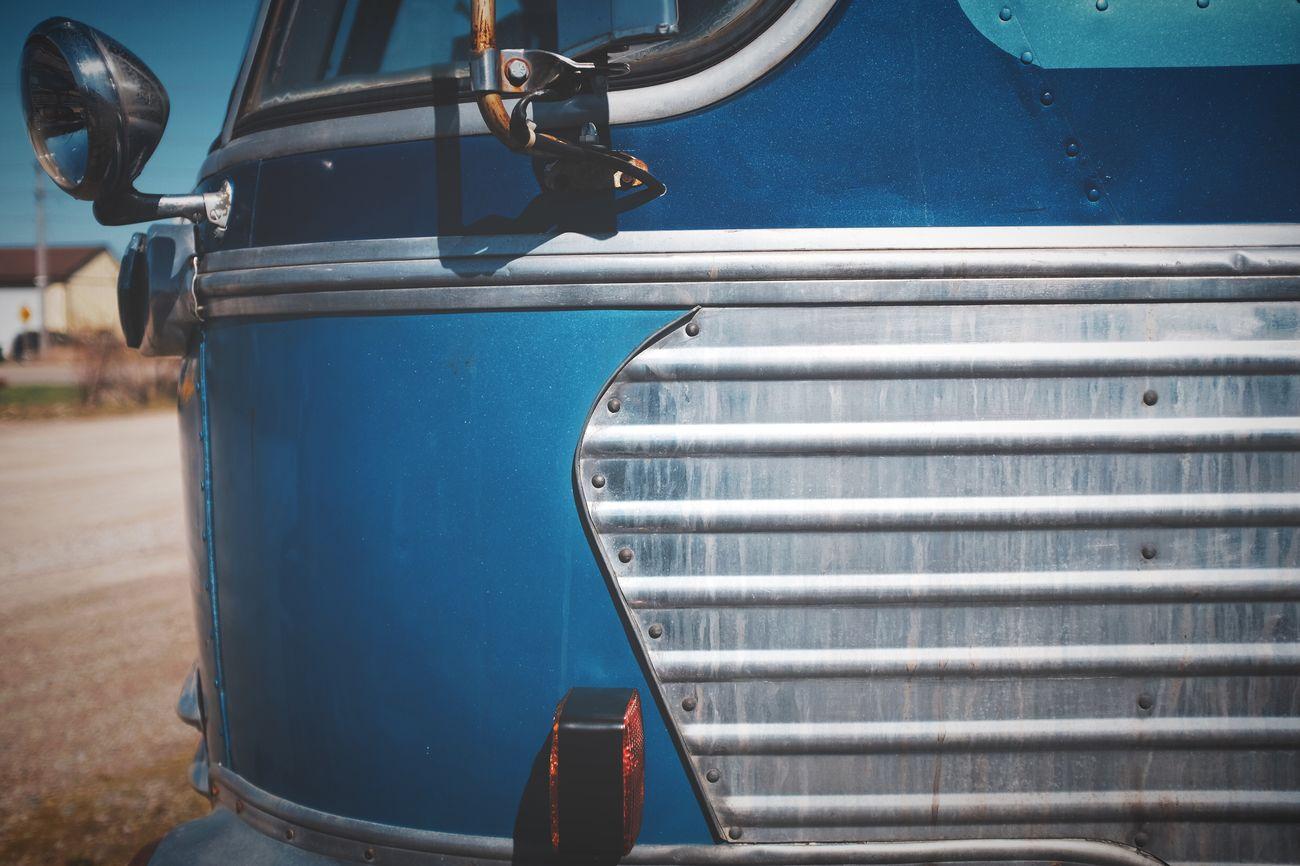 Vintage 1947 Brill Bus Metal Art Deco Bus Blue Fujifilm_xseries FujiX100T Vintage Cars Wabi-sabi Polarr EyeEm Best Edits EyeEmBestEdits