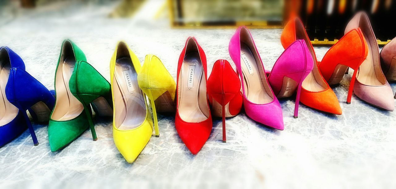 HighHeels Fashion Multicolored Diversity In Colour Milanofashionweek EyeEm Diversity Casadei