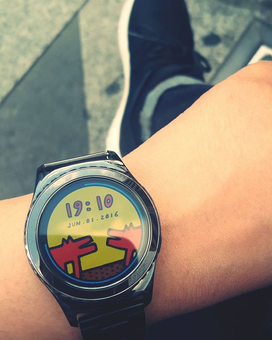 Gear S2 Smart Watch Keith Haring Samsung Gear S2 Classic