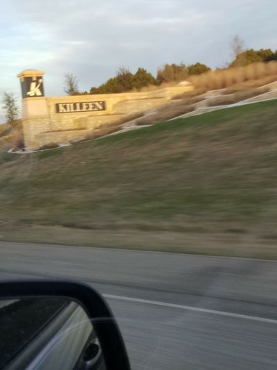 Driving Into Killeen