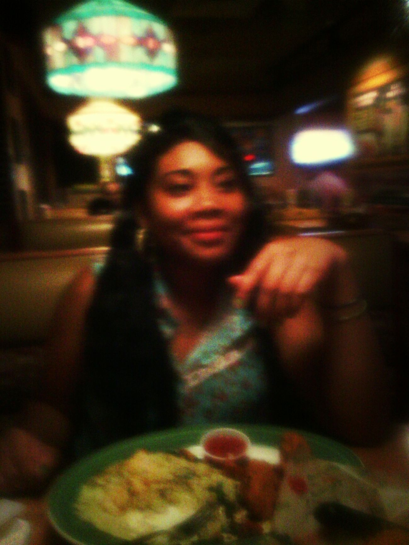 At Applebees