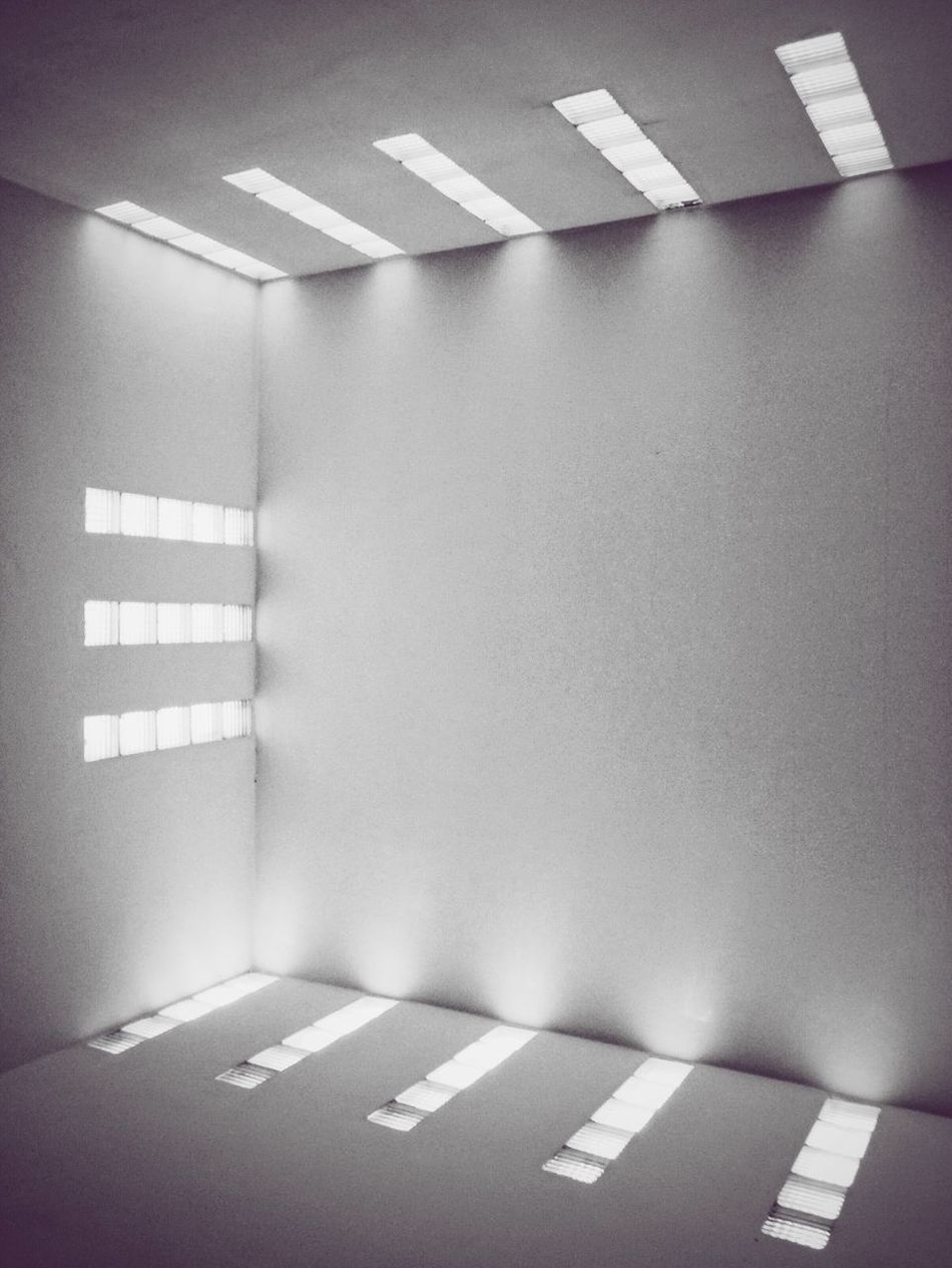 Indoors  Archtecture Modern Abstract Light And Shadow Illuminated
