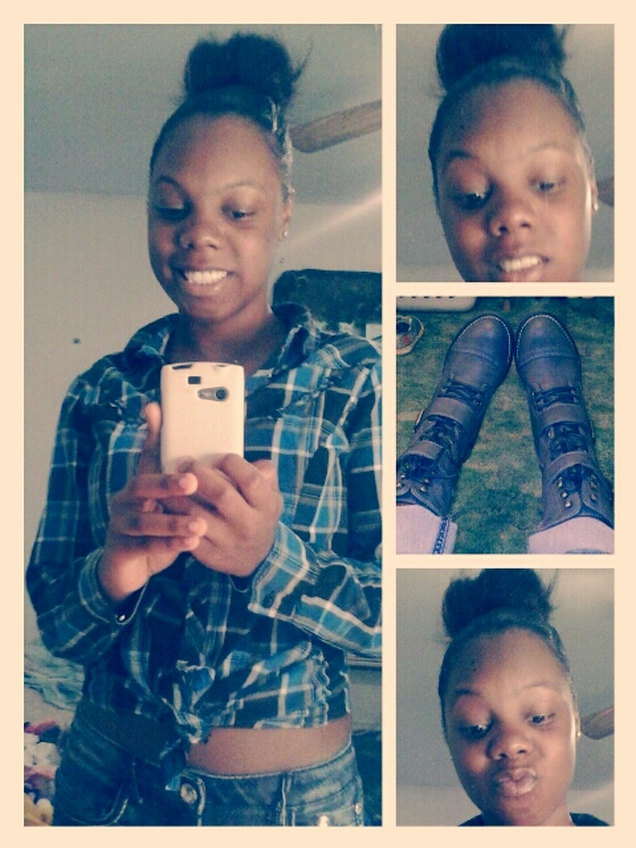 A boots girl.