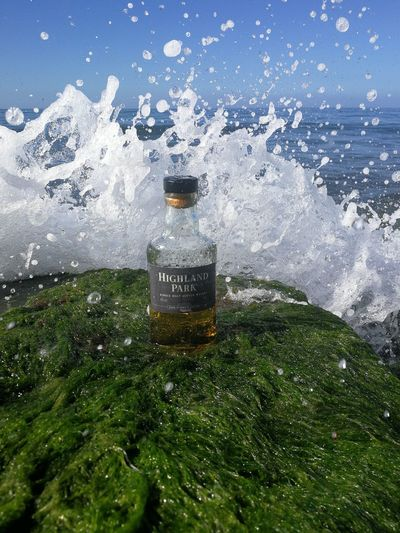 Whisky and water. Whiskey HighlandPark Water Waves Beauty In Nature Splashing The Great Outdoors - 2017 EyeEm Awards Huawei P10 EyeEmNewHere Reflection Nature Sky Alcohol Water Reflections Vikingsoul Live For The Story Whiskyviewhunting