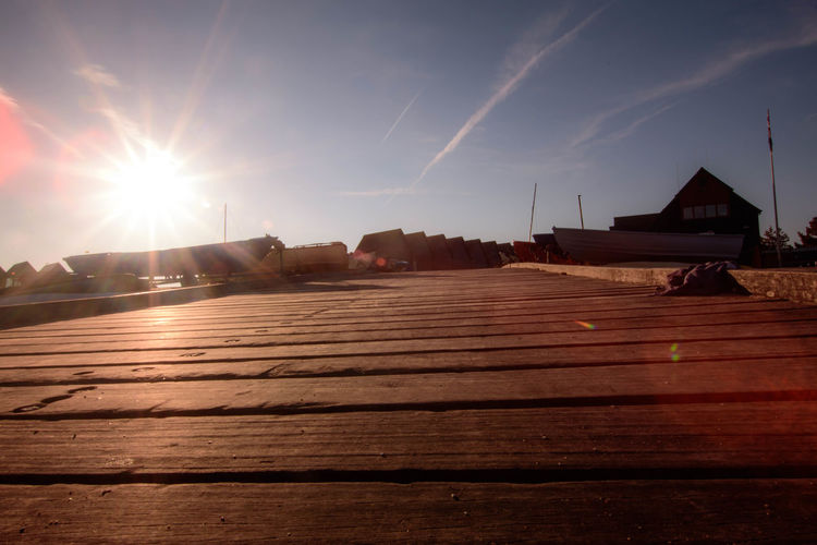 Architecture Boardwalk Deck Harbour Long Exposure Sky Sun Sunbeam Sunlight Sunrise Tranquility Whitstable Whitstable Harbor Wooden
