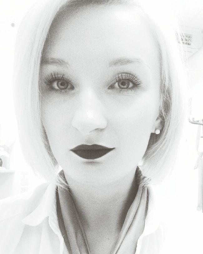 Badwoman Working Open Edit Polishgirl Blackandwhite Soamazing Darkside