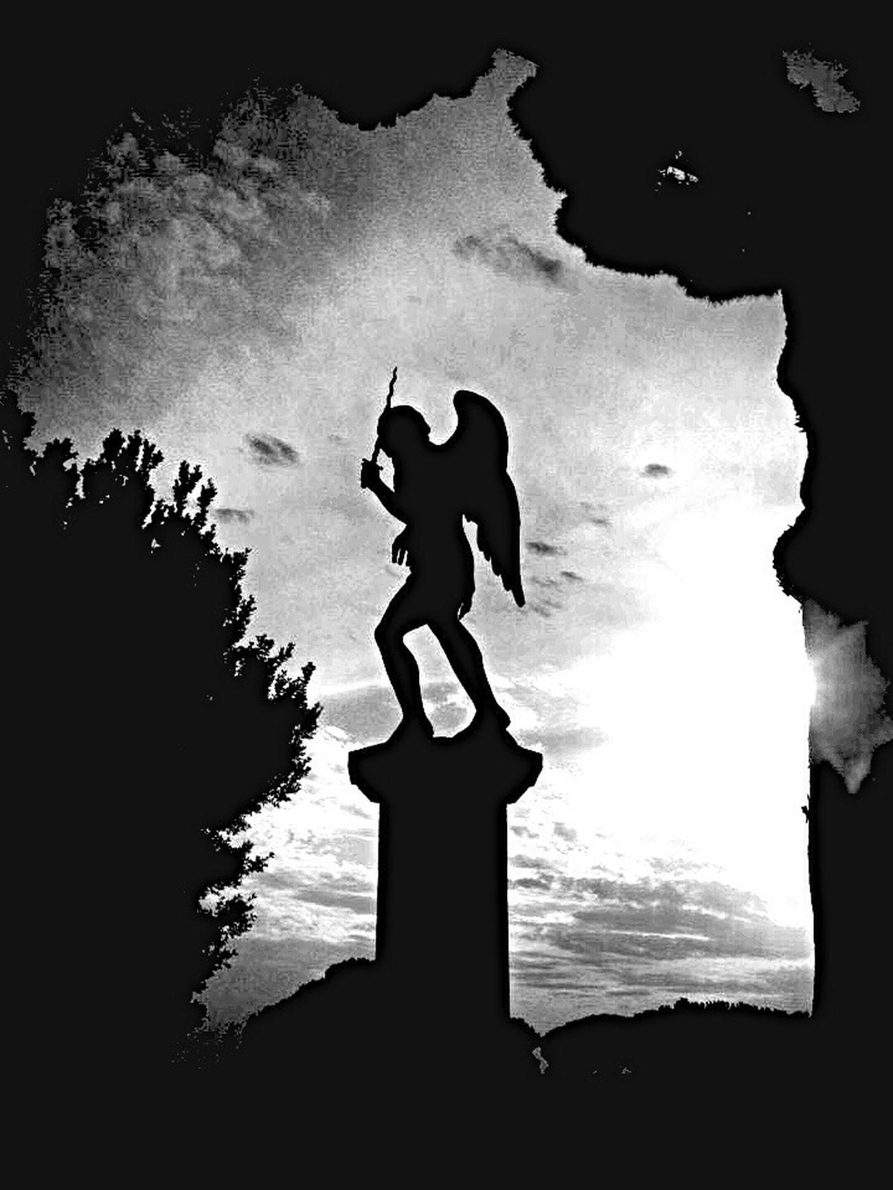 Silhouette Rome Arcangel