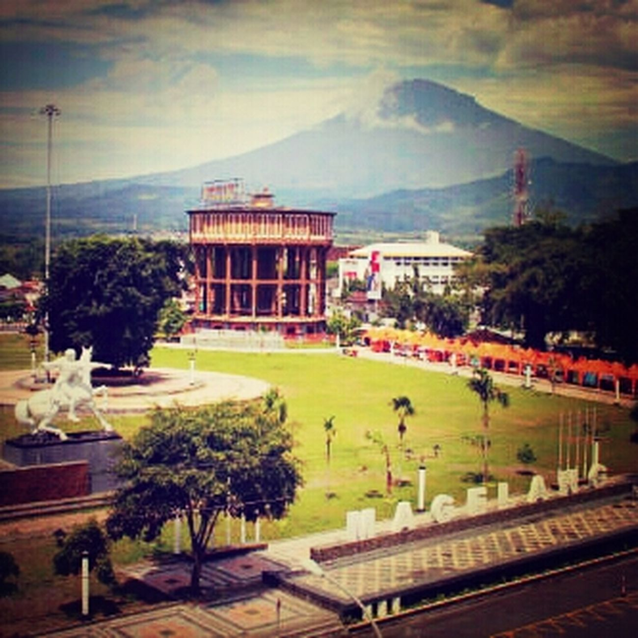 Alun-alun kota Magelang This Is Where I Live... Where I Grew Up Times In Times That Are Not Times