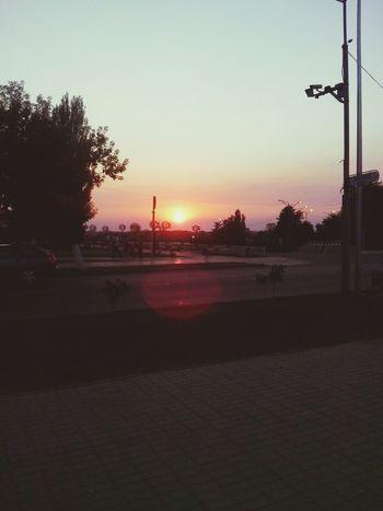 My Town Evening Sky