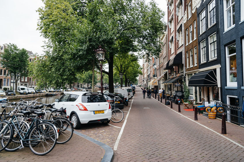 Amsterdam street scene Amsterdam Architecture Bicycles Building Exterior Built Structure Canal Canals Canals And Waterways Cannabis City City City Life City Life City Street Cityscape Day European  Mode Of Transport Outdoors Red Light District Street Tourism Transportation Travel Travel Destinations