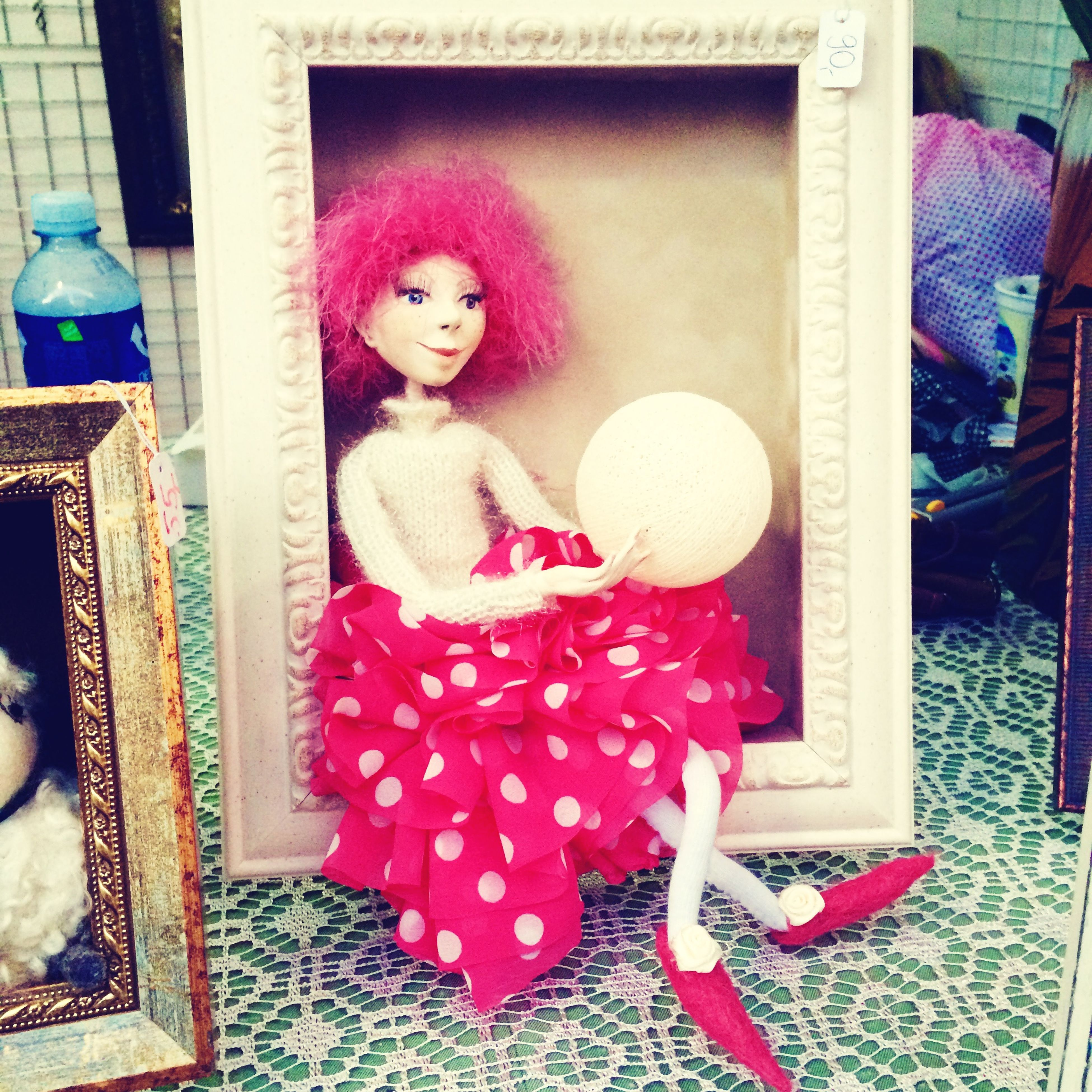 The happy life of a pink fairy 💁 Pinkfairy Fairy Handmadedoll Sweet Dreams First Eyeem Photo
