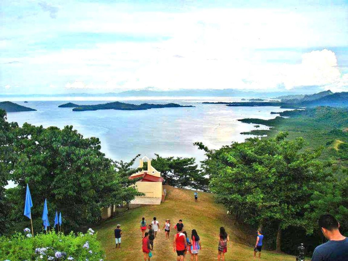 Flying High Caramoan Island, Camarines Sur Leisure Activity Vacations High Angle View Mountain Peak Beauty In Nature Grotto Mama Mary