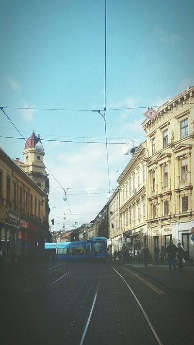 Zagreb Zagreb - Centar Ilica Tramvaj Eyeem Zagreb