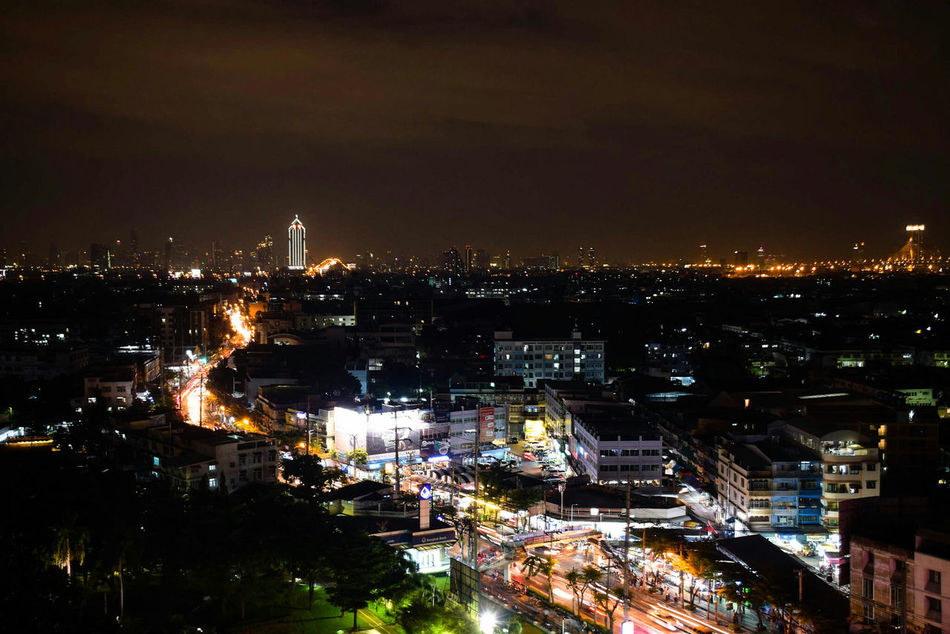 Night Cityscape Illuminated City Building Exterior Outdoors Built Structure Sky Skyscraper Shadow Light Beautiful Amazing Eyeemphotography EyeEm Thailand Bangkok Thailand. Shotoftheday EyeEm Best Shots Capture The Moment From My Lens Thailand EyeEm Gallery Streetphotography Streetphoto City
