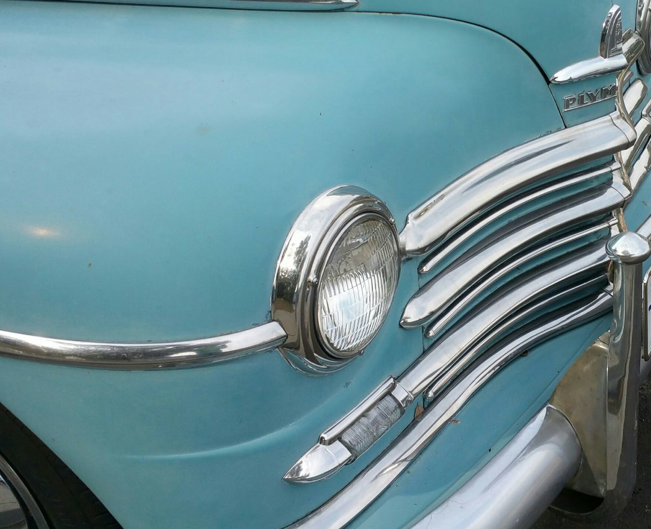 Car Antique Robin Egg Blue Color Love Old Cars  Saw This On My Walk This Week On Eyeem Showcase: January The EyeEm Facebook Cover Challenge Car Collection