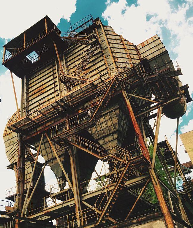 The Color Of Technology Old Technology Elephant Mine Czech Republic Ostrava