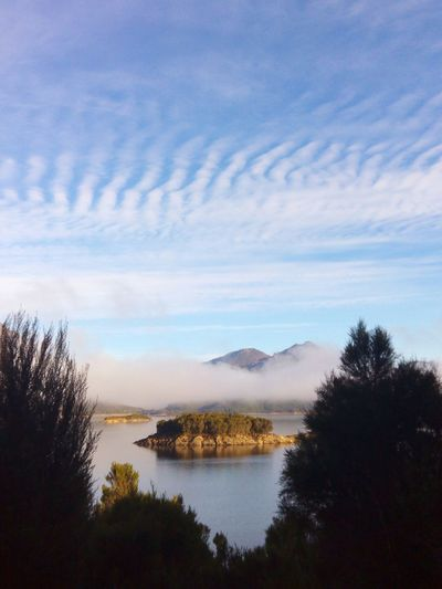 Tasmania Australia Clouds And Sky Waterscape Landscape_photography Holiday Memories Lake Burbury Lake View