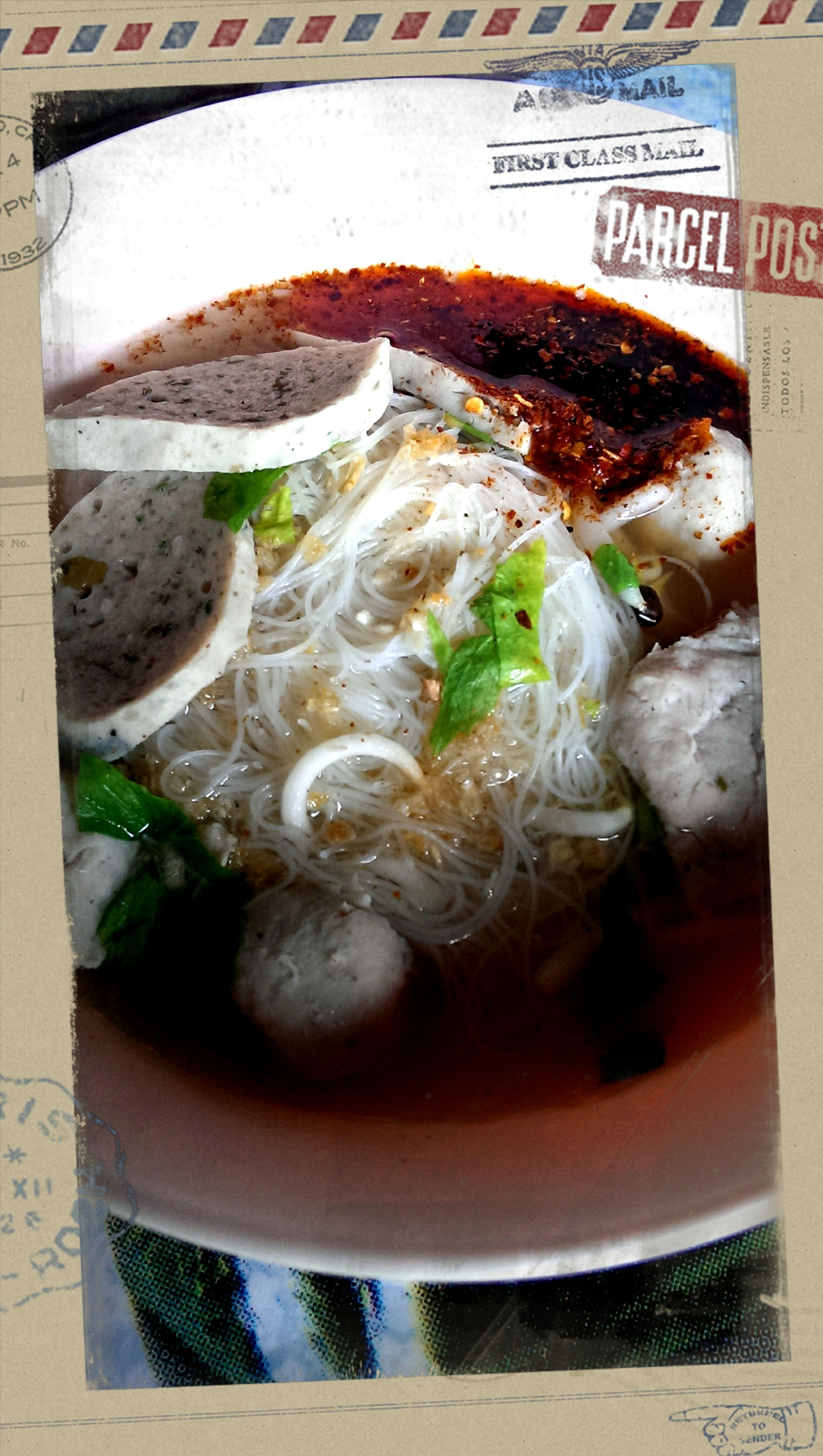 กิน กิน กิน Lunch Noodles A Must Try Spicy