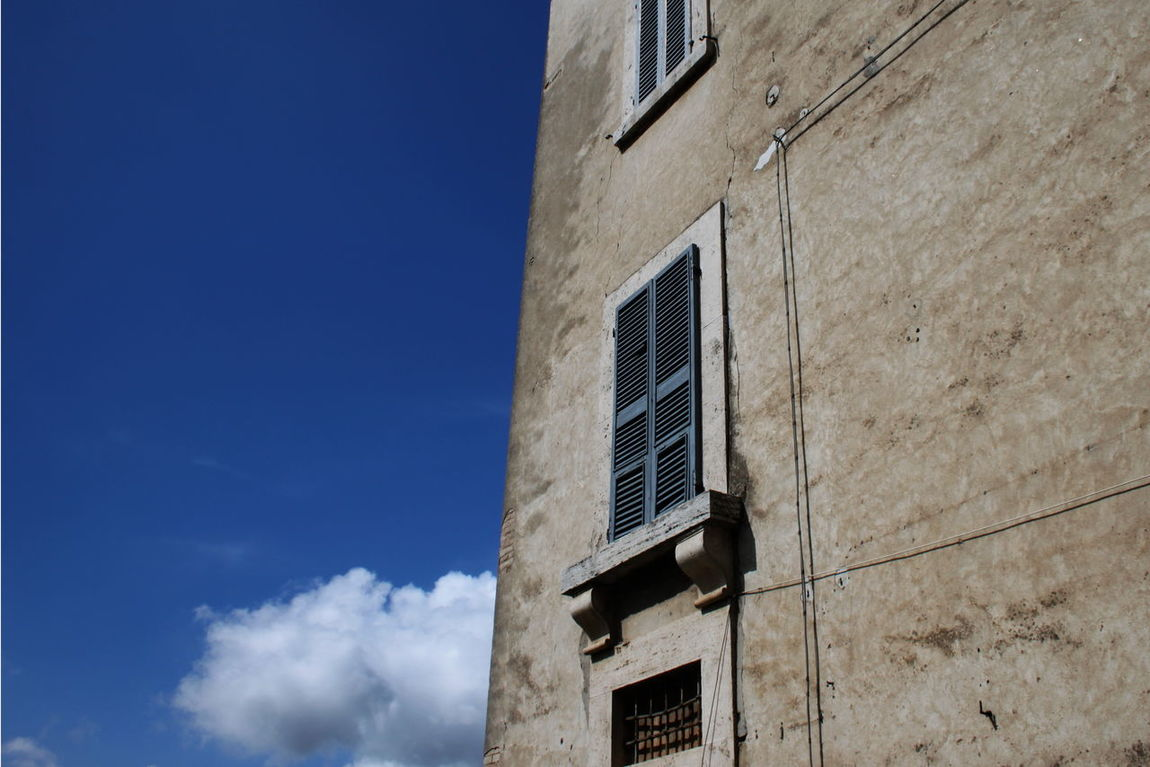Amelia Architecture Blue Building Built Structure Cloud Day Exterior Italy Nature No People Outdoors Sky Umbria