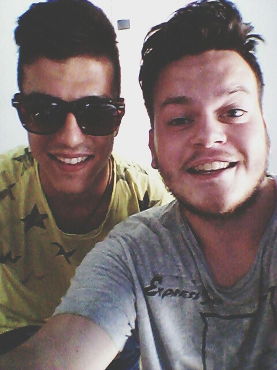 Selfie With My Friend :)