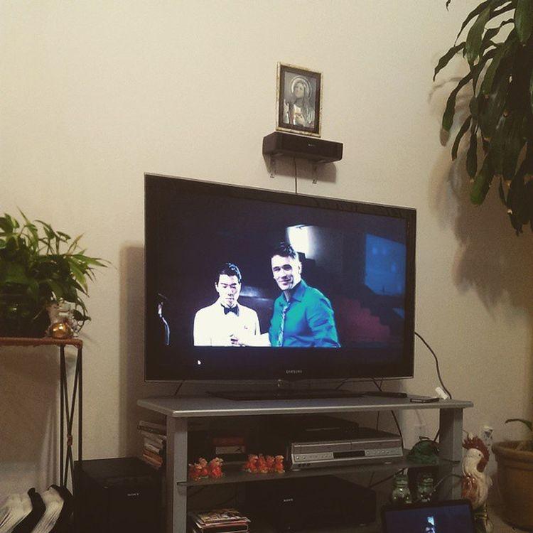 Watching 'The Interview' with the fam. <3 Jamesfranco THEINTERVIEW Sethrogan DaveSkylark Movienight