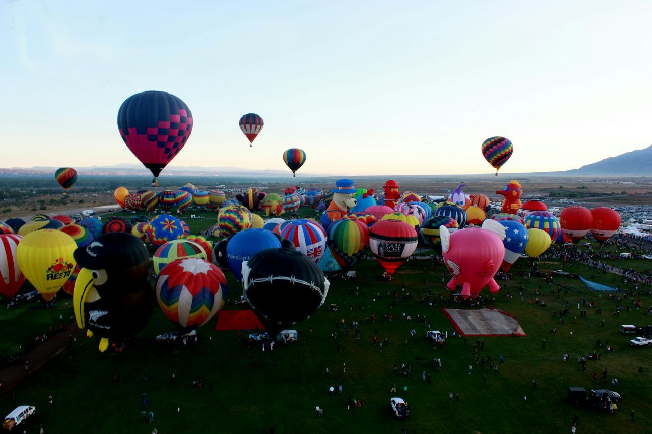 I Love My City World's largest International Balloon Fiesta in Albuquerque, NM Newmexico Abqphotos Albuquerqueballoonfiesta Balloonfiesta  Birdseyeview