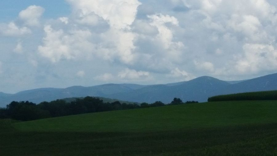 Mountain Landscape Cloud - Sky Allegany Mountains Outdoors Scenics Beauty In Nature