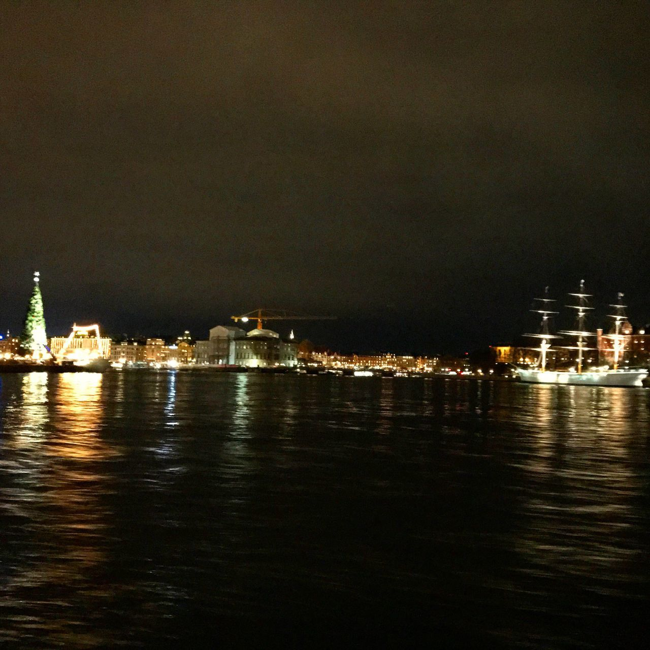 Night Water Nightcity Stockholm Sweden IPhoneography IPhone 7 IPhone Photography