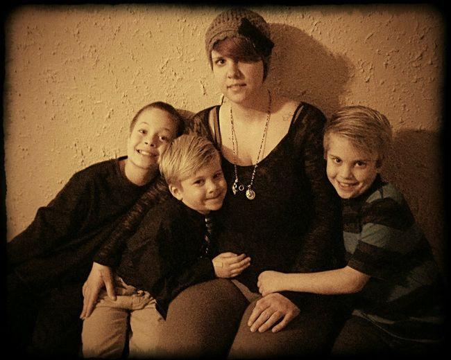Me and my not so little men,Christmas 2015 Lovemyboys Kids Mommiesarms Love Holidays Christmas