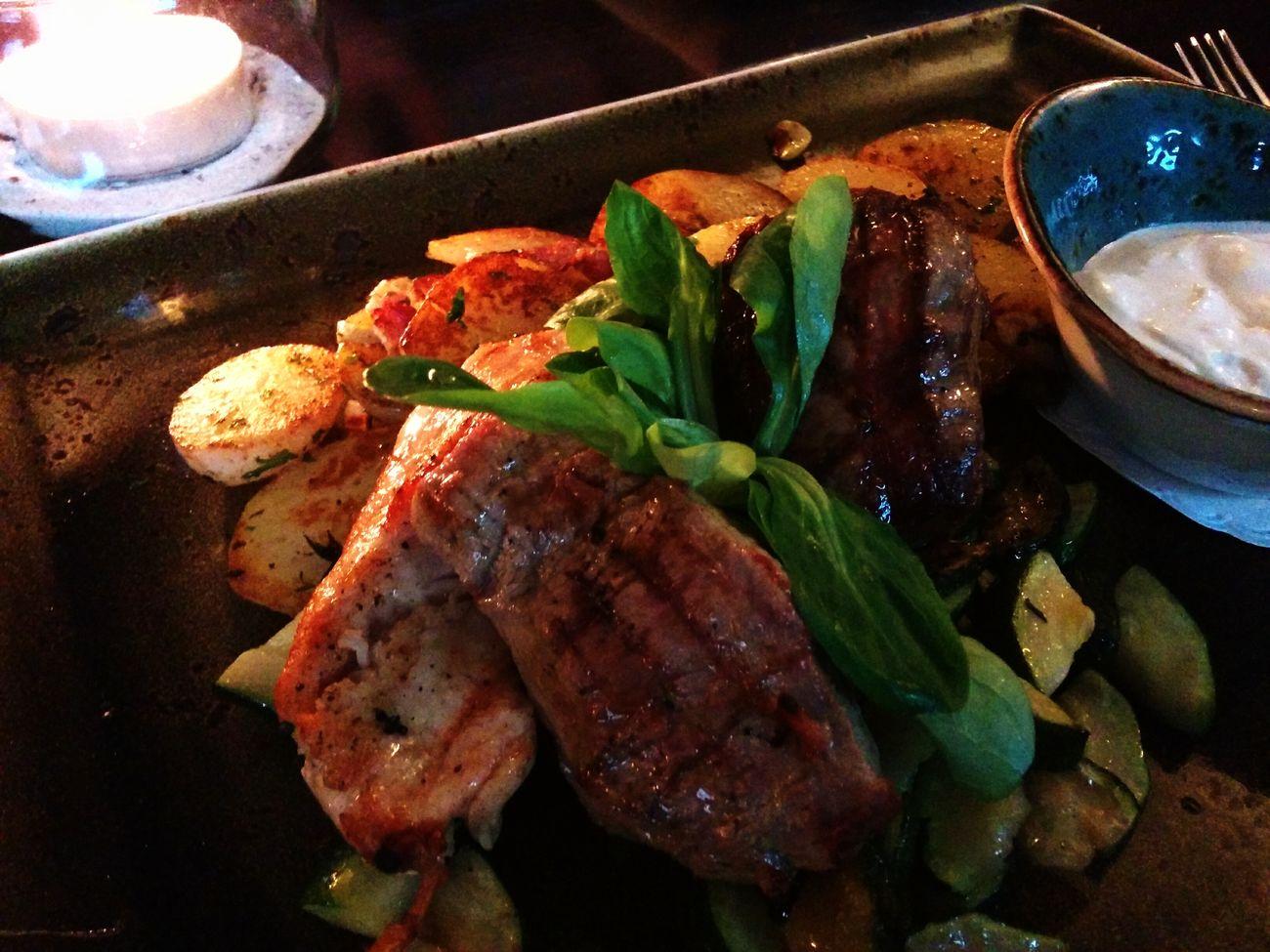 Dreierlei kleine Steaks - ganz prima!