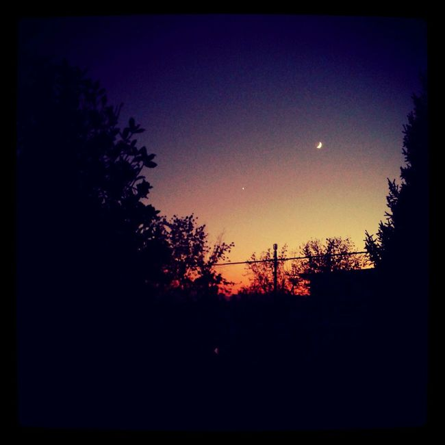 Sky_collection Sunset_collection Landscape #Nature #photography Autumn2013 #colors #light #shadow #moon #ig_italia