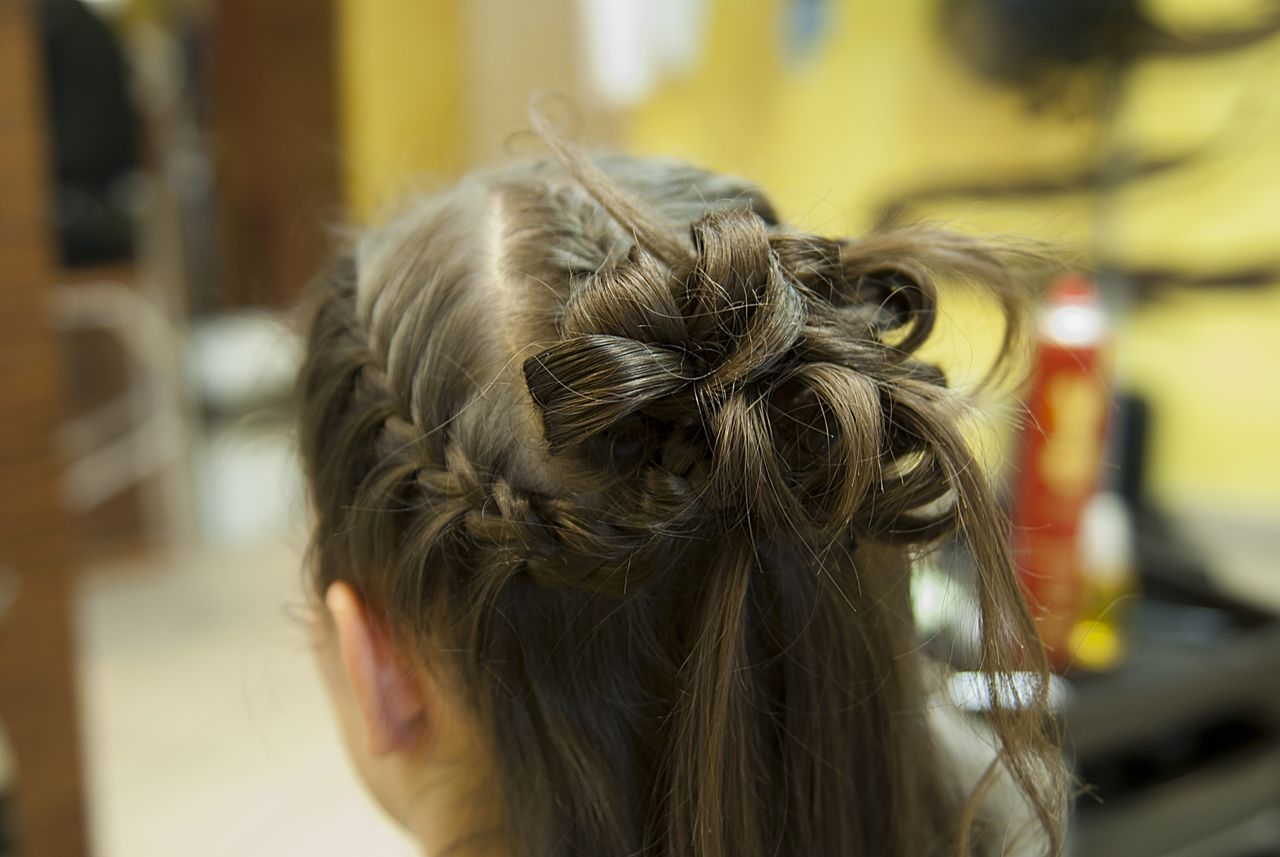 Braid Celebration Close-up Day Details Fashion Hair Focus On Foreground Hairdresser Hairdressing Hairstyle Hairstyles Headshot Indoors  Life Style Lifestyles Long Hair One Person People Real People Rear View Style Tress Wedding Fashion Woman Women