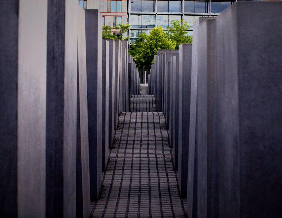 Berlin Stelenfeld Memorial Art Architectural Detail Architecture