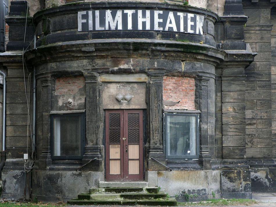 Beautiful stock photos of cinema, , Germany, Horizontal Image, abandoned