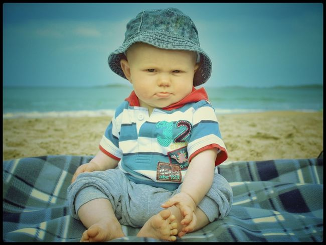 Portrush Beach Baby On The Beach People Of The Oceans Beach Photography Toddlerlife Beach Life Northern Ireland EyeEm Best Shots Our Best Pics The Essence Of Summer Babyboy Cute Portrait EyeEm Gallery Seaside Sea_collection Sea View Showcase June An Eye For Travel