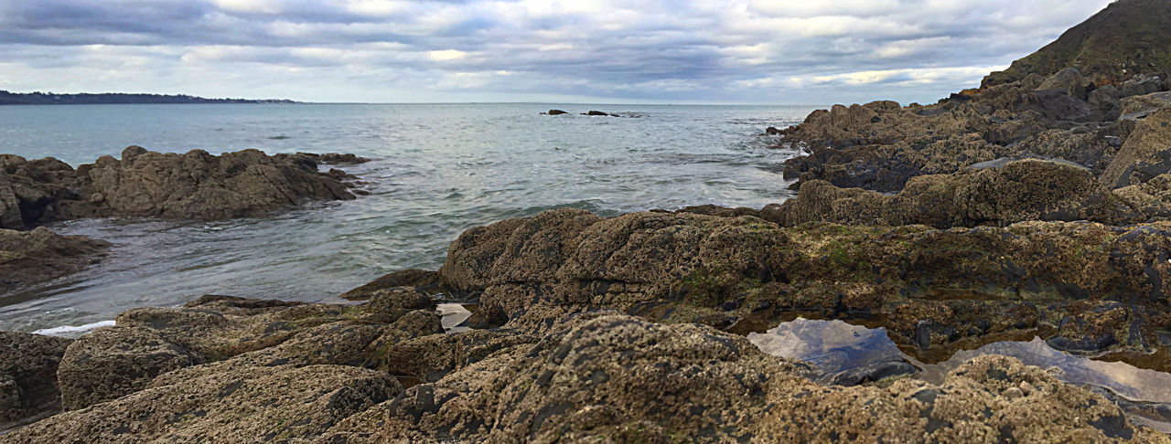 Le Petit Havre Beach Beauty In Nature Bretagne Bretagne France Bretagne Lovers Bretagnetourisme Brittany Brittany Sky Cloud - Sky Clouds Coastline Horizon Over Water Landscape Landscape_photography Nature Outdoors Panoramic Photography Sea Thunderstorm Waves Waves And Rocks Wild Wilde Side