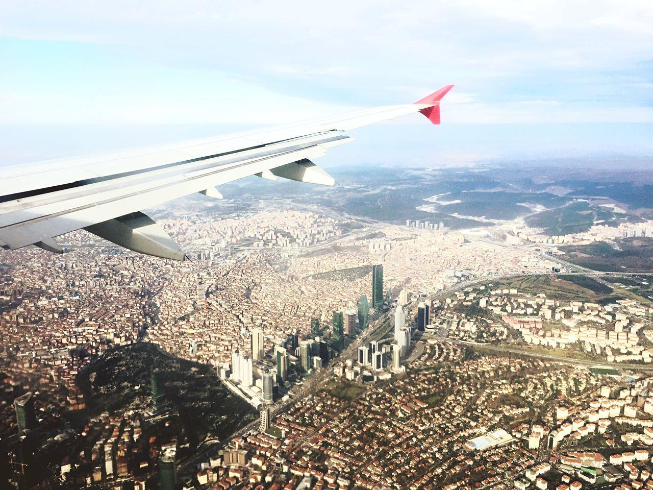 Beautiful stock photos of plane, Aircraft Wing, Airplane, Building Exterior, City