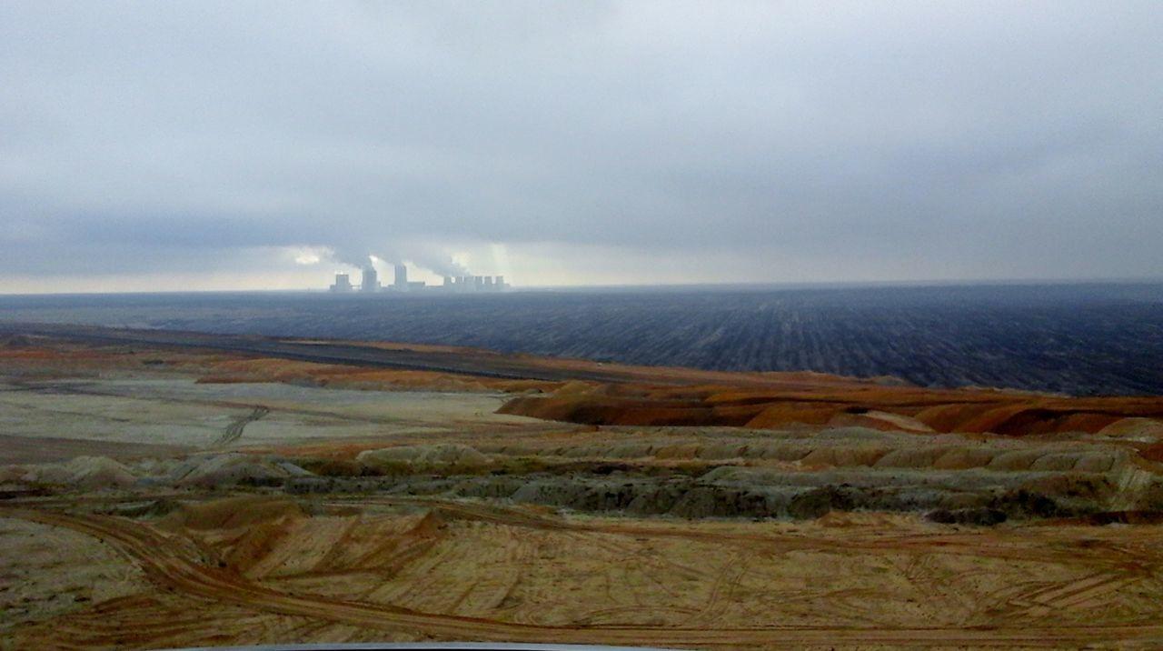 Boxberg Cloud - Sky Horizon Over Land Landscape No People Outdoors Tagebaulausitz Weather